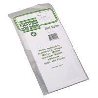 Plain Sheet .040x6x12 (2) Styrene by Evergreen Scale Models EVG9040