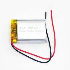 1x Lipo Akku 850mAh 1s 3,7V ohne Stecker 102535 Lipolymer ersetzt 800mAh 1000mAh