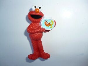 Sesame Street Disney Muppet Character Figure -  Elmo with Fishbowl
