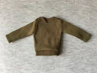 Action Man Soldier top 1977 nylon pullover khaki vintage Palitoy 34071 doll 1:6