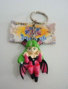 """Pocket Fighter Morrigan Aensland Capcom Figure 2"""" Keychain Keyholder Toy Japan"""