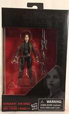 STAR WARS BLACK SERIES JYN ERSO - ROGUE ONE - WALMART EXCLUSIVE - 2016 - R 3856