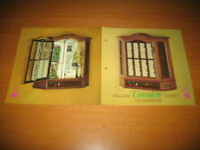 Original nsm consulette it II 160 Music Box JUKEBOX FLYER BROCHURE