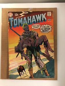 Tomahawk #121 Neal Adams Art! Silver Age DC Western! I combine Shipping!