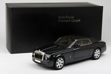 Brand New 1/18 Kyosho Rolls-Royce Phantom Coupe Darkest Tungst Diecast Car Model