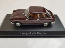 1/43 Norev Peugeot 204 Coupé 1967 kastanienbraun 472403