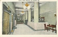 A View Of The Lobby, Hotel Stillwell, Grand Avenue, Los Angeles, California CA