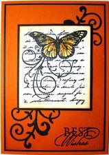 Handmade Card - Best Wishes