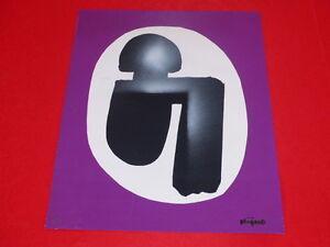 [Coll. R-JEAN MOULIN ART XXe] LADISLAS KIJNO (FR) LITHOGRAPHIE SIGNEE 1/40 ex 78