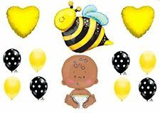 """What Will It BEE Baby Shower Gender Reveal Party 24"""" CELEBRATE BABY Balloons"""