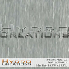 HYDROGRAPHIC FILM FOR HYDRO DIPPING WATER TRANSFER FILM BRUSHED METAL v2