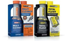 XADO AtomEX DIESEL FUEL System Cleaner & Xado TotalFlush Oil System Cleaner