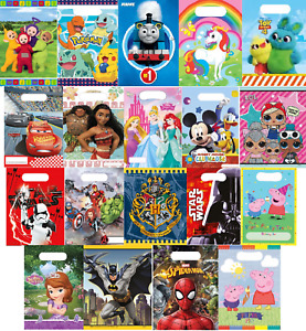Kids Disney Character Party Loot Bags Birthday Surprise Gift Accessories Pack