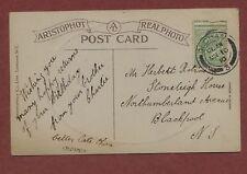 Herbert Robinson, 'Stoneleigh House', Northumberland Av, Blackpool 1910  qh228
