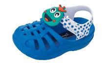 Scarpe blu in gomma con chiusura a strappo per bambini dai 2 ai 16 anni