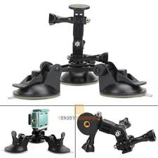 1/4''Screw Suction Cup Tripod Car Mount for Gopro Hero 5 2 3 3+ 4 SJCAM Camera