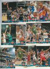 90's INSERTS LOT (12/20) 1992-93 UPPER DECK ROOKIE STANDOUTS SHAQ ZO SPREE RC