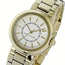 NWT Marc Jacobs Womens Watch Yellow Gold SS Bracelet COURTNEY MJ3465 $250