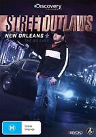 The Street Outlaws - New Orleans - Big Easy (DVD, 2017, 2-Disc Set) Region 4