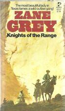 Knights of the Range  Zane Grey 1976 Western Vintage Very Good Plus