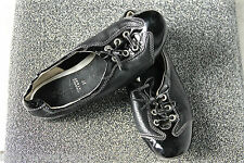 pretty ballet flat black leather GEOX BREATHED size 37 SATISFIED/REFUNDED