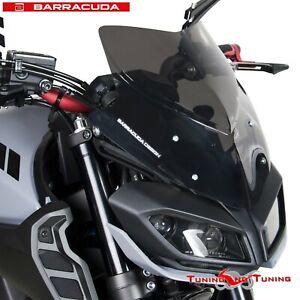 CUPOLINO AEROSPORT BARRACUDA FUME' SCURO PER Yamaha MT-09 2017-2018-2019