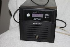 Buffalo ws-wv4.0tl/r1 Terastation 2-Bay Nas Server no disk or caddy-as pictured