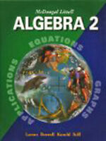 Mcdougal Littell Algebra 2 :  by Larson