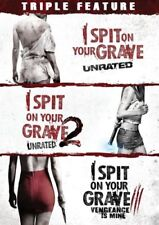 I Spit On Your Grave Complete Collection Horror Movie Trilogy 1 2 3 Box DVD Set