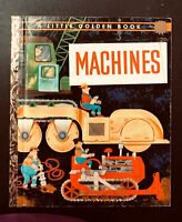 """Vintage Little Golden MACHINES """"A"""" 1st Ed. William Dugan"""