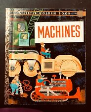 "Vintage Little Golden MACHINES ""A"" 1st Ed. William Dugan"