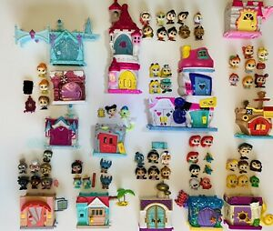 DISNEY DOORABLES Lot by Moose Toys 59 Characters! Castles! Rare Houses! & More