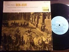 """25 CM 10"""" OST BEN HUR JEAN ROCHEFORT JEAN SERVAIS  musique de miklos rozsa"""