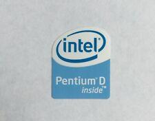 Genuine Intel Pentium D inside Sticker PC Laptop Badge Logo
