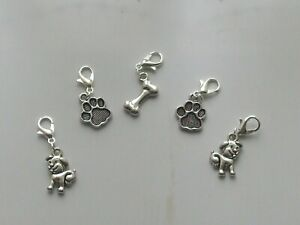 5 Stitch Markers DOGS Knitting,Crochet,Charms,Accessories   etc   New