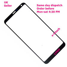 LG G6 H870DS H870 H873 LS993 Front Touch Screen Outer Glass Replacement black