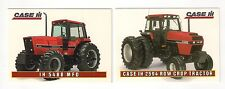 1995 CASE IH 5488, 2594 Row Crop Tractor, 2 collector/trading cards, #C21-#C22