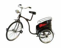 Piccola Bicicletta RISCIO' in metallo riproduzione soprammobile arredo NON REALE