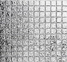 Mosaik Fliese Keramik silber gehämmert Wandverblender   18-0207_f   10 Matten