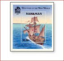 BAH9001 Columbus sailing ship Santa Maria offshore block