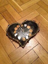 Handmade Wrought Iron Clock, Designer Timepiece, Fire And Iron, Vgc, £120.00rrp