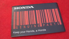 Genuine Honda merchandise Big Counter or Mouse Mat Honda Barcode Genuine Parts.