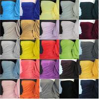 Plain Polar fleece - anti pill washable soft warm fabric material various colors