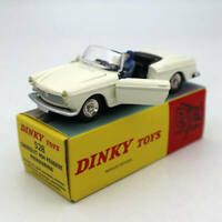Atlas 1:43 Dinky toys 528 PEUGEOT 404 Cabriolet Pininfarina Diecast Models