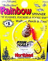 Northland Rainbow Trout Spinner - Choose Color ( One Package )