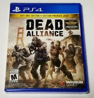 Dead Alliance Day One Edition - PlayStation 4 PS4 Brand New/Sealed
