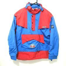 Vintage Rip Curl Altitude High Jacket Mens Size L Red Blue Hipora Ski 80s - 90s