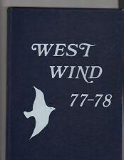 1977-78 WEST HOLLOW MIDDLE SCHOOL YEARBOOK (MELVILLE, LI, NY)