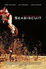 Seabiscuit movie poster - Tobey Maguire poster 11 x 17 inches - Horse Racing