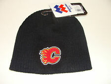 Calgary Flames Kids Child Toque Beanie Cap Hat 4-6x OS Most Mighty Mac
